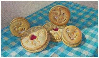 Robin Lee-Hall's 'Happy Biscuits'