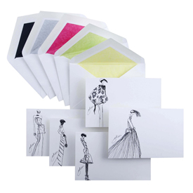 Giles Deacon note cards for Smythson