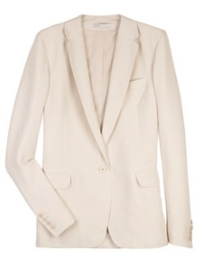 Maje's blazer.  A snip on Stella's at £240.