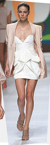 The Stella McCartney £1,025 blush blazer.  Incidentally, sold out.
