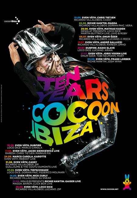 Cocoon at Amnesia Ibiza 2010 (1/2)