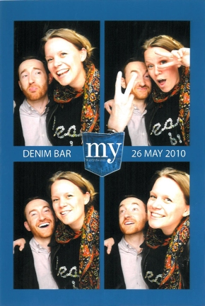 lineageofinfluence and soldiersailor at the my-wardrobe.com denim bar launch