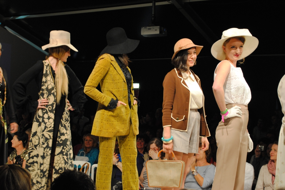vintage goodwood fashion show