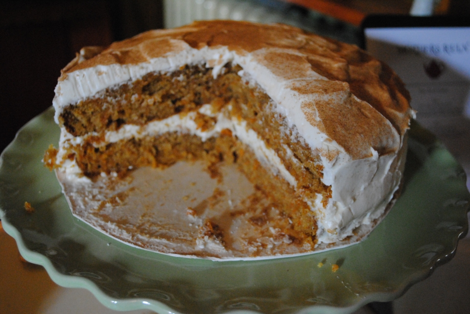 Mother's Ruin Carrot Cake
