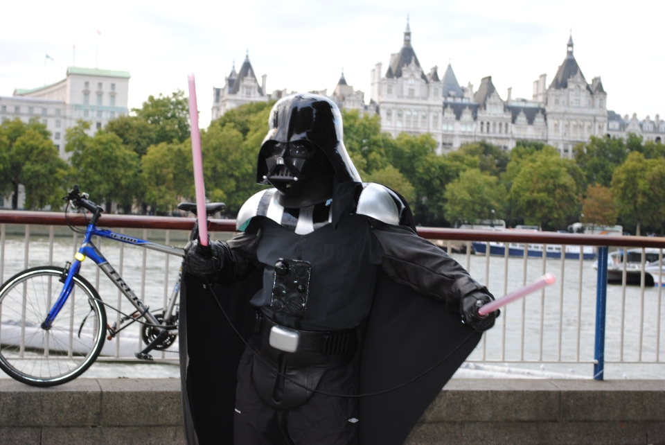 Darth Vader on Southbank