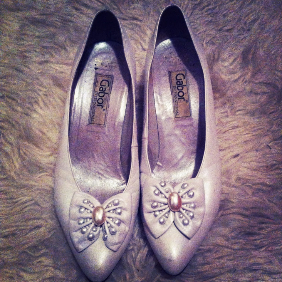 Vintage White Shoes