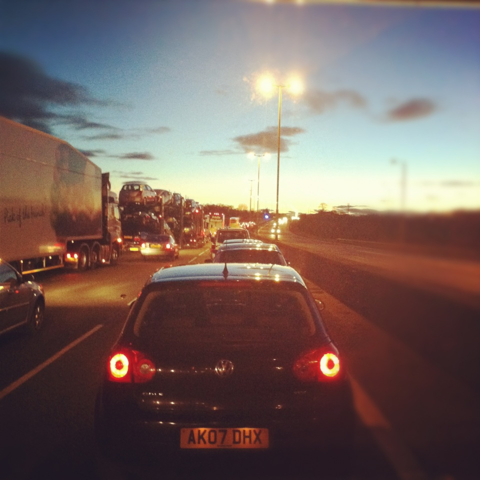 Road trip: accident