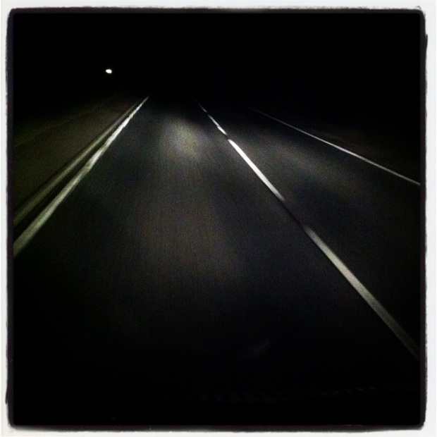 Road trip: in the middle of the night