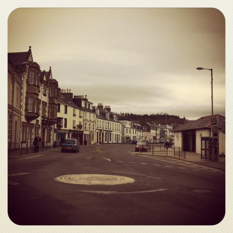 Road trip: welcome to Lochgilphead