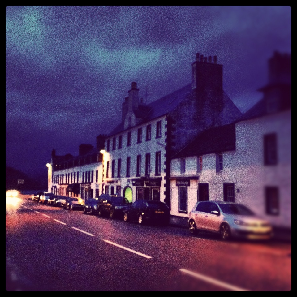Road trip: on the road at Inverary