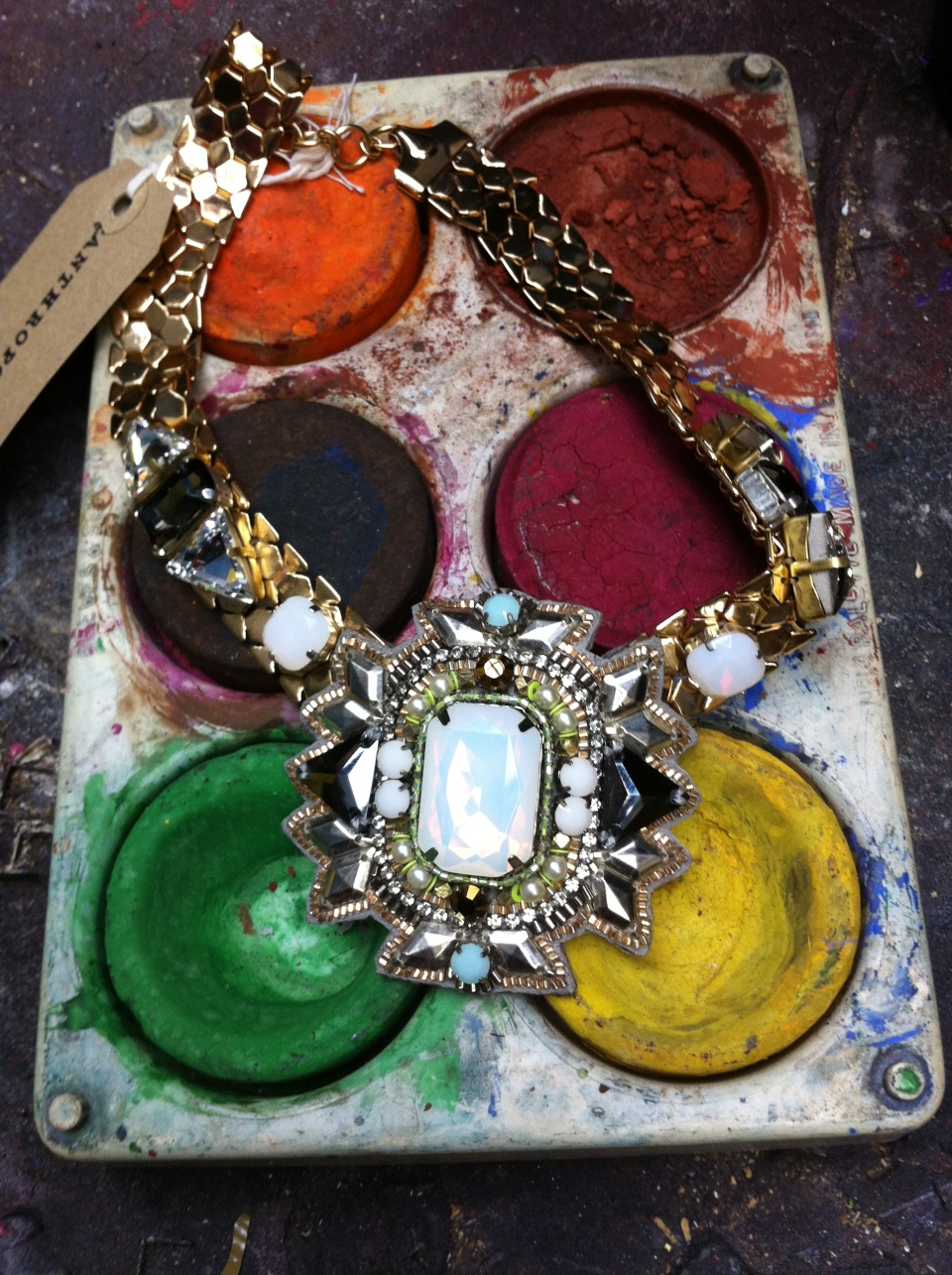 anthropologie jewellery
