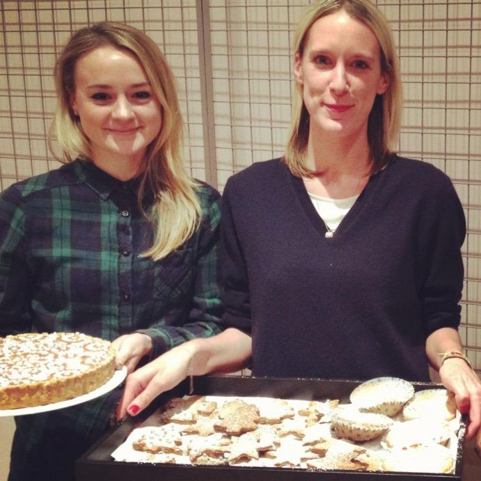 Holly and Amanda do Bakemas