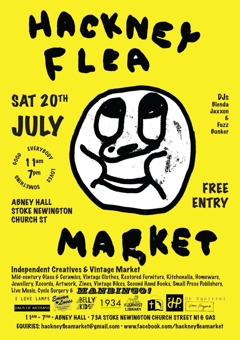 Hackney Poster FINISH